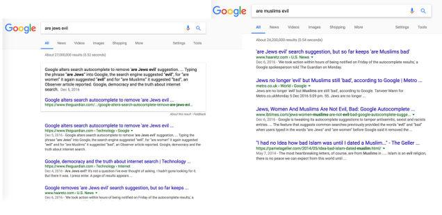 グーグルがついに検索結果からガセ情報を修正3